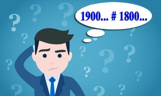 Sự khác nhau giữa tổng đài 1800 và 1900
