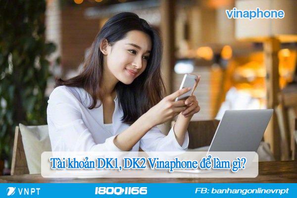 Tài khoản DK1, DK2 Vinaphone là gì?
