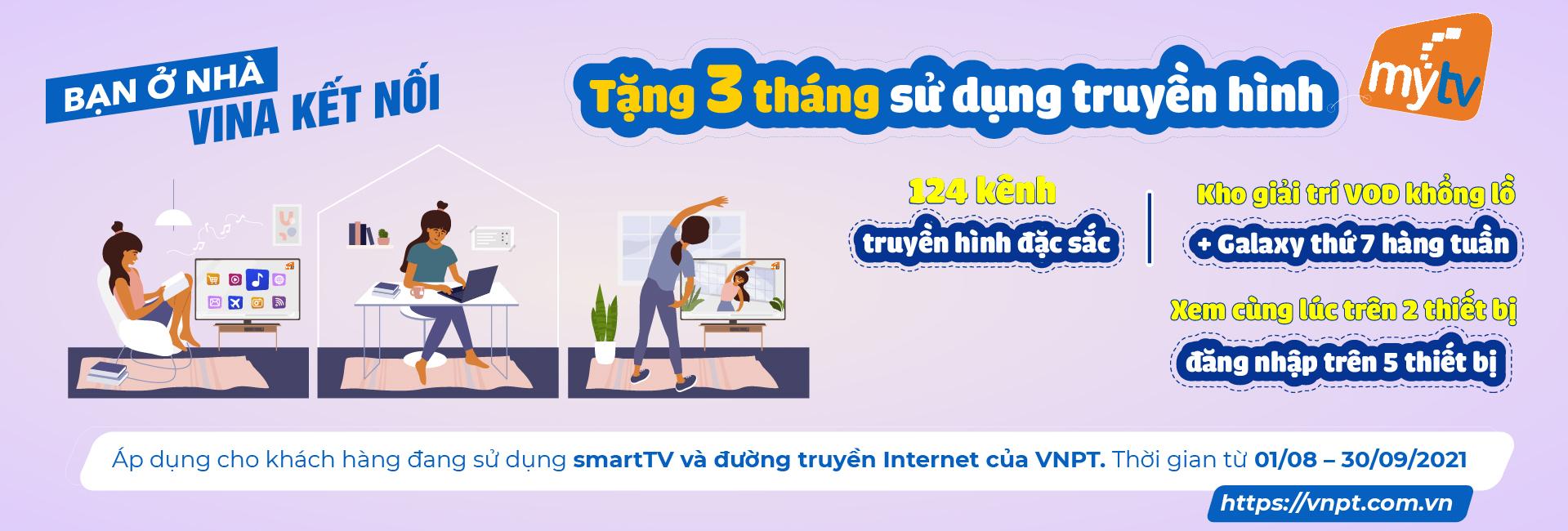 MYTV TẶNG 3 THÁNG