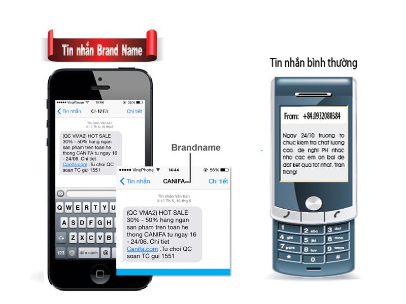 Dịch vụ tin nhắn thương hiệu eSMS của Vinaphone