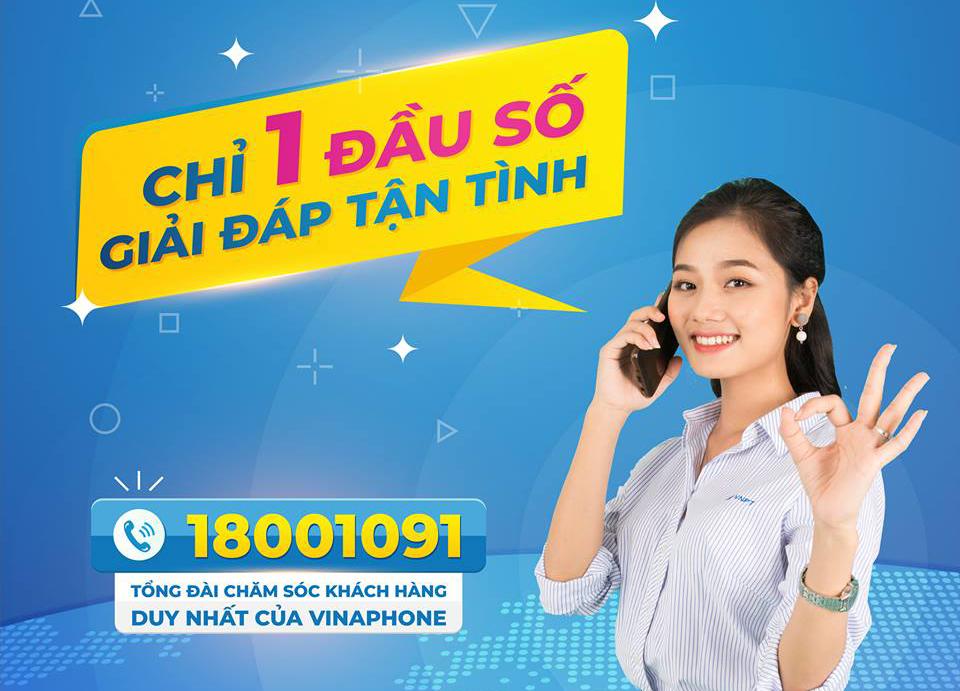 [THÔNG BÁO] 18001091 thay thế tổng đài 9191, 1399 VinaPhone từ 20/2/2019