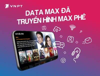 Đăng ký gói Đỉnh TV Vinaphone nhận ngay ưu đãi thoại, Data, truyền hình